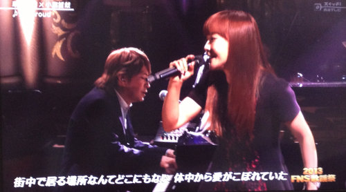 1x1.trans FNS歌謡祭 華原朋美×小室哲哉 生放送内で和解、前を向いて行きます!