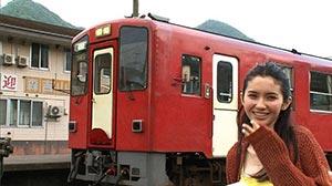 モデルの市川沙耶はものすごい鉄道ヲタ!鉄道にかけるその想いを見る