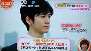 中島裕翔『HOPE~期待ゼロの新入社員~』原作やあらすじ・ネタバレ!