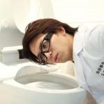 トイレ芸人佐藤満春とは?トイレ掃除グッズを自ら開発!嫁や子供の画像は?